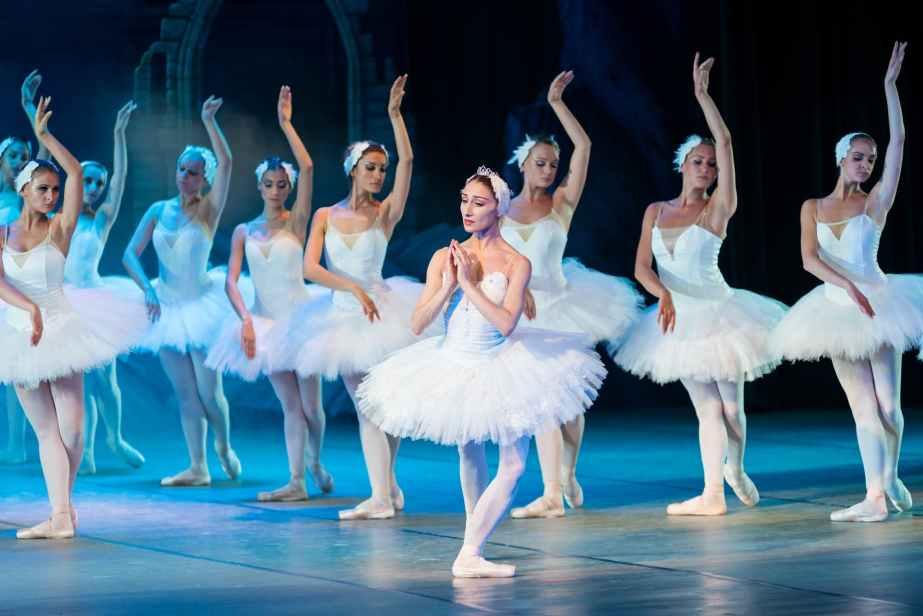 active adult artist ballerina