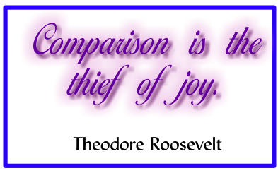 Loving Yourself – Kicking the comparison habit once and for all!